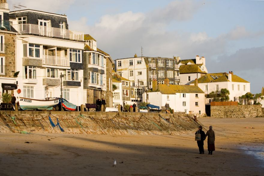St Ives Harbour Beach and Quayside