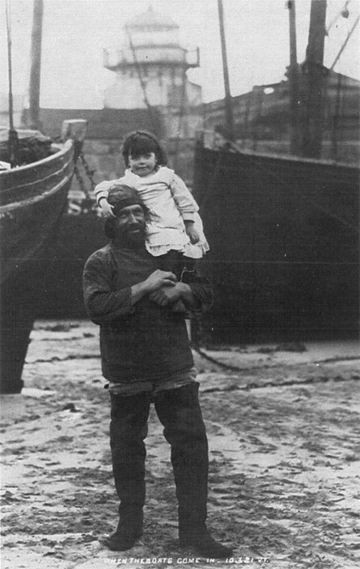 St Ives Fisherman - 1898