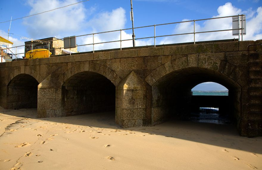 3 Tunnels - St Ives Pier