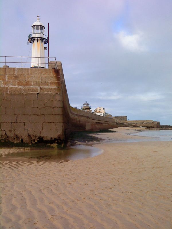 St Ives Pier and Lighthouse