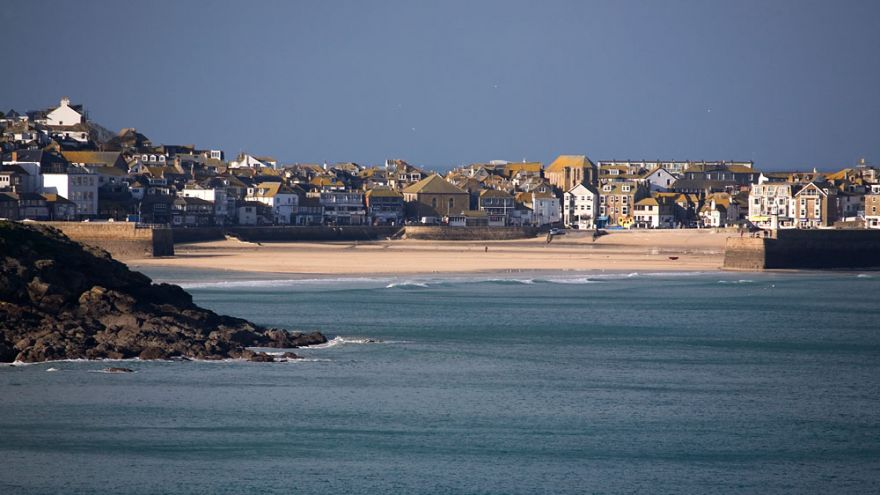 View to St Ives Harbour