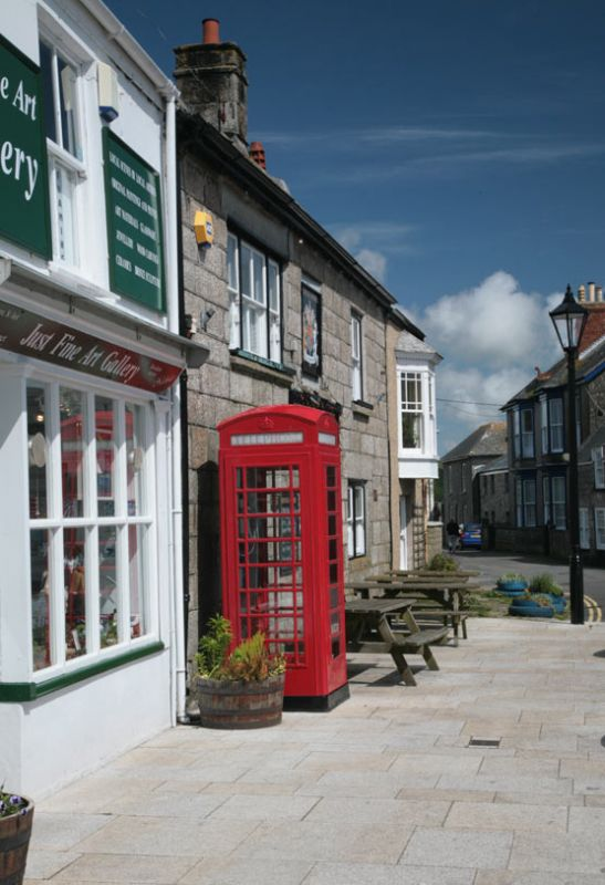 St Just Red Telephone Box