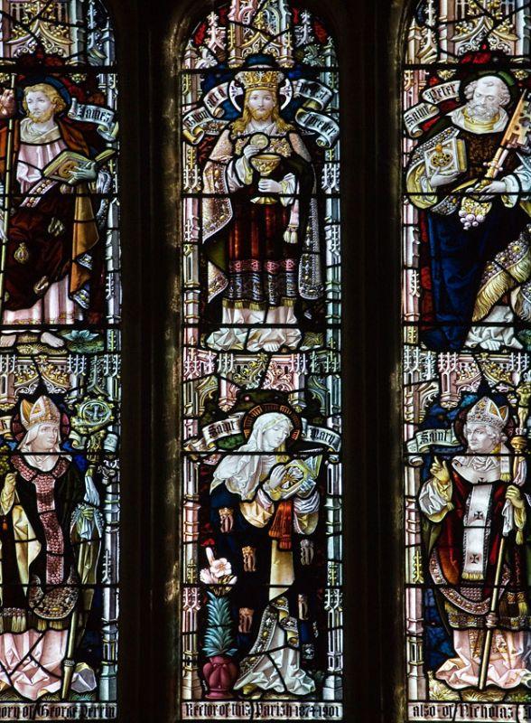 St Mawgan Church window