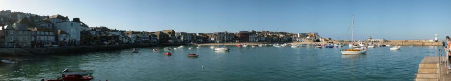 St Ives Harbour Panorama 2