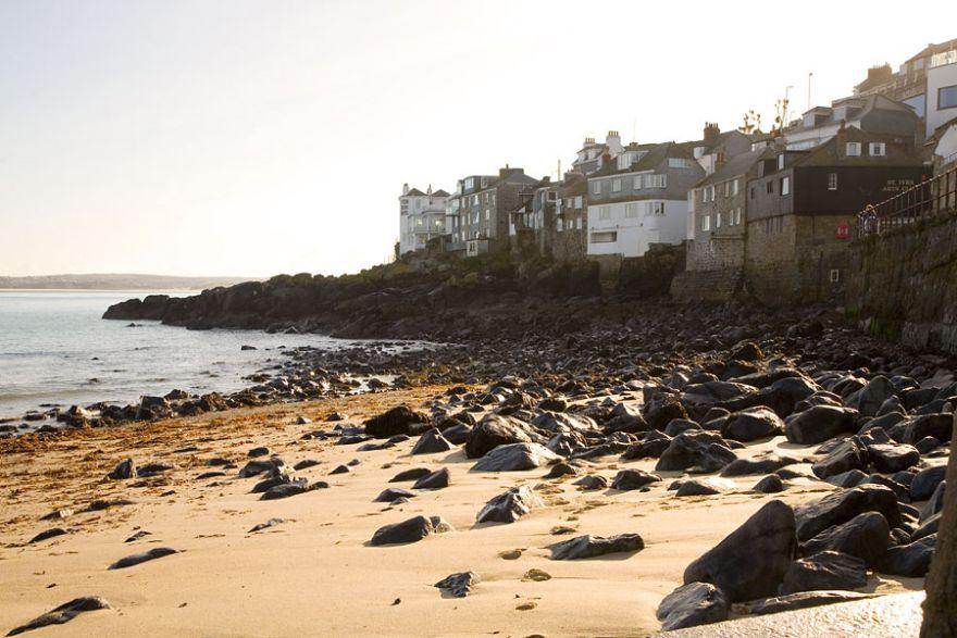 Lambeth Walk Beach - St Ives