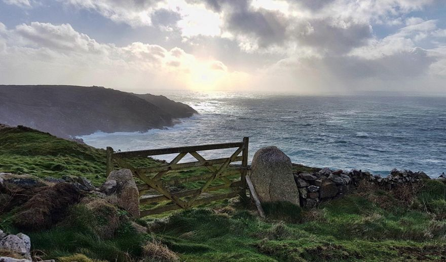 Turning Stormy at Botallack