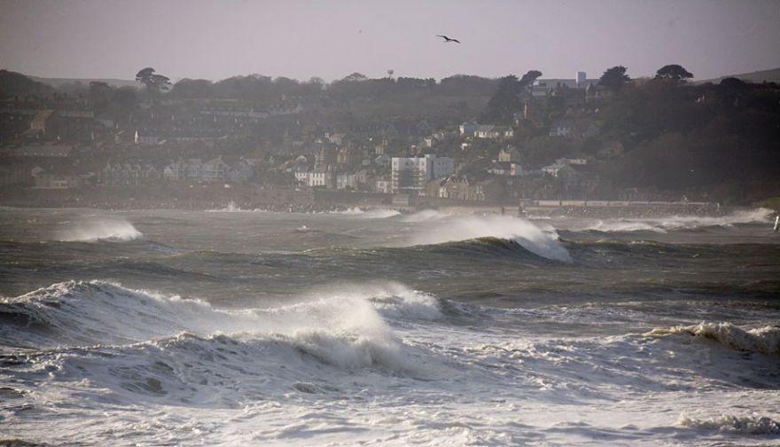 Stormy Seas in Mount's Bay