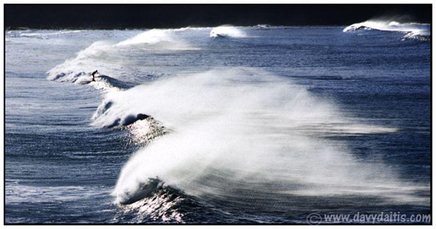 Single surfer