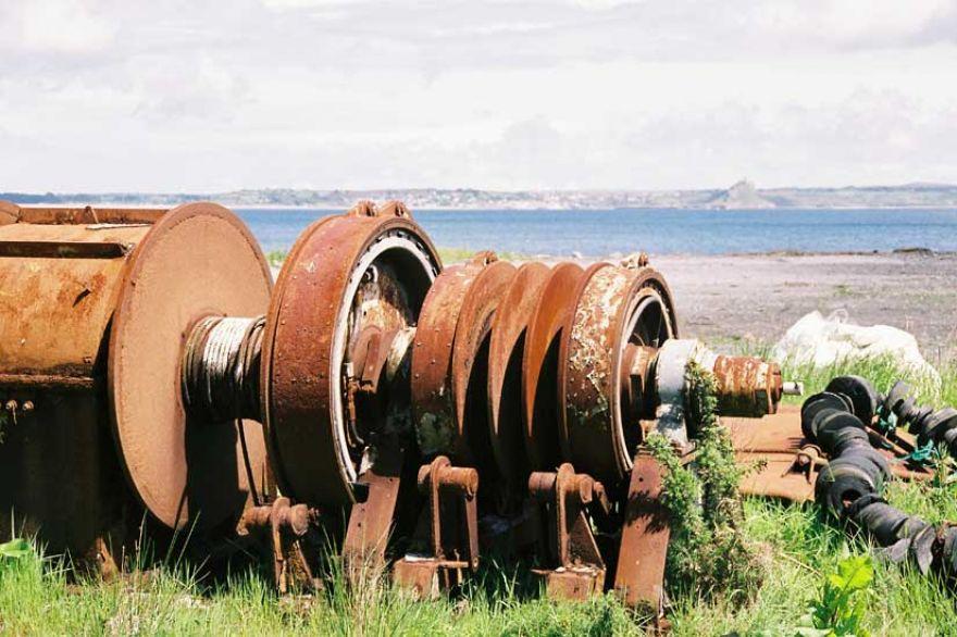 Old Trawler Parts - Newlyn