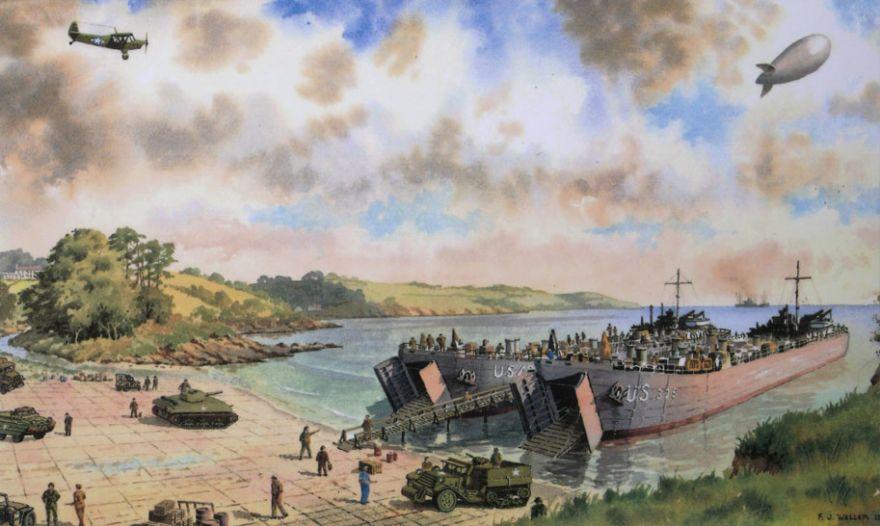 D-Day Preparations - Trebah