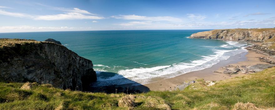 Trebarwith Strand Beach