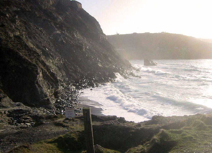 Trevellas Porth Beach - St Agnes