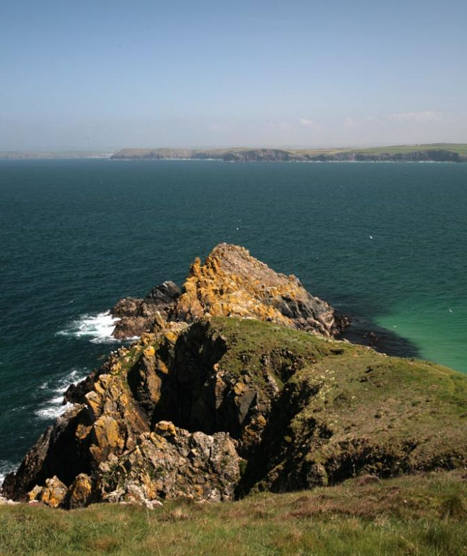 Cliffs near Trevose Head