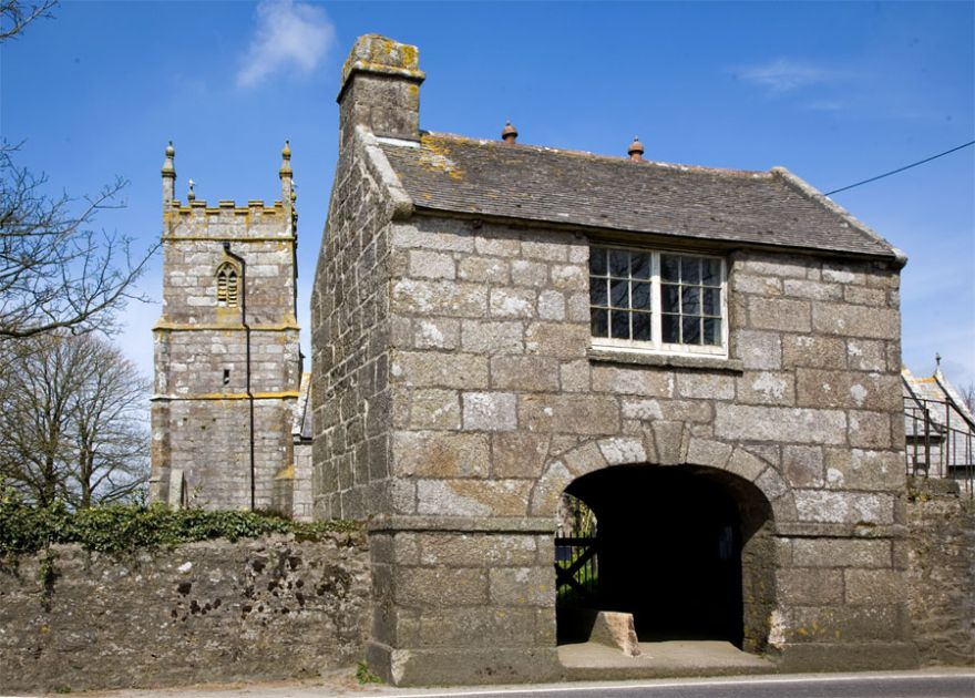 Wendron Church  Lych Gate