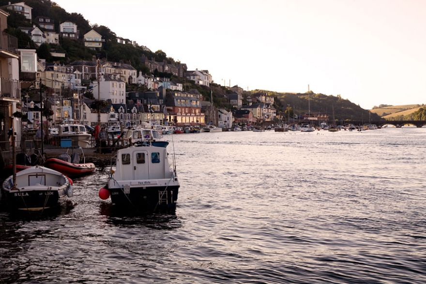 West Looe waterside