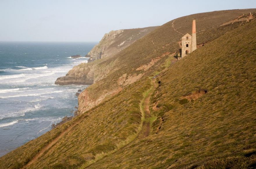 Cliffs and Wheal Coates Mine