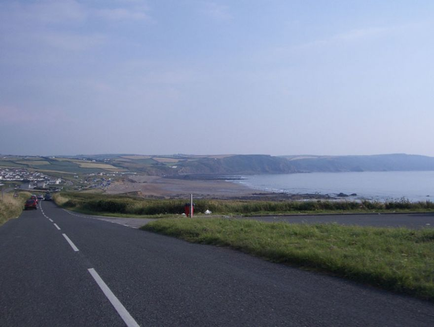 Road to Widemouth Bay - Bude