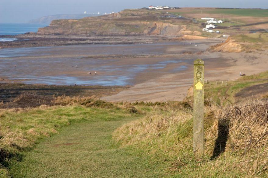Widemouth Bay Coast Path - Bude