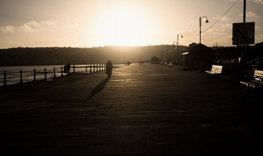 Penzance Promenade - Winter Sun