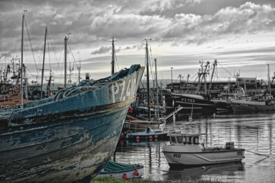 Old Fishing Boat - Newlyn