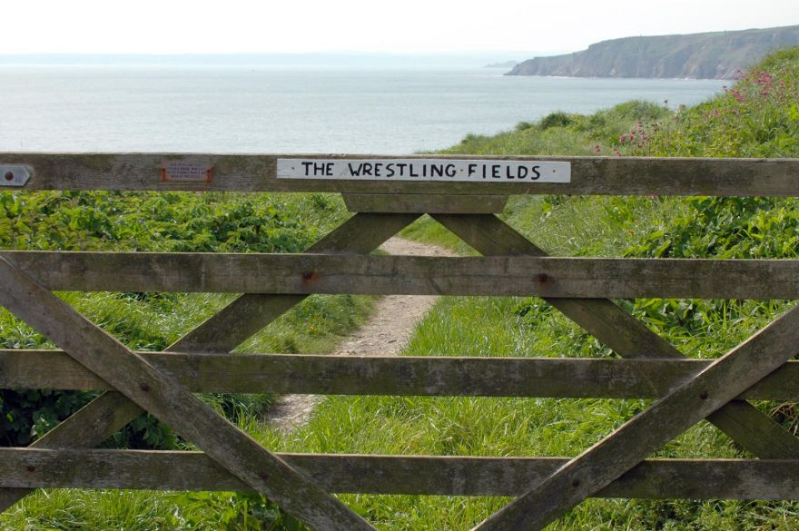 The Wrestling Fields - Porthleven