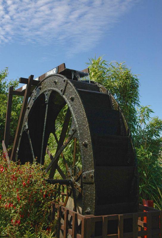 Zennor Water Wheel